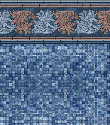 French Riviera / Blue Mosaic